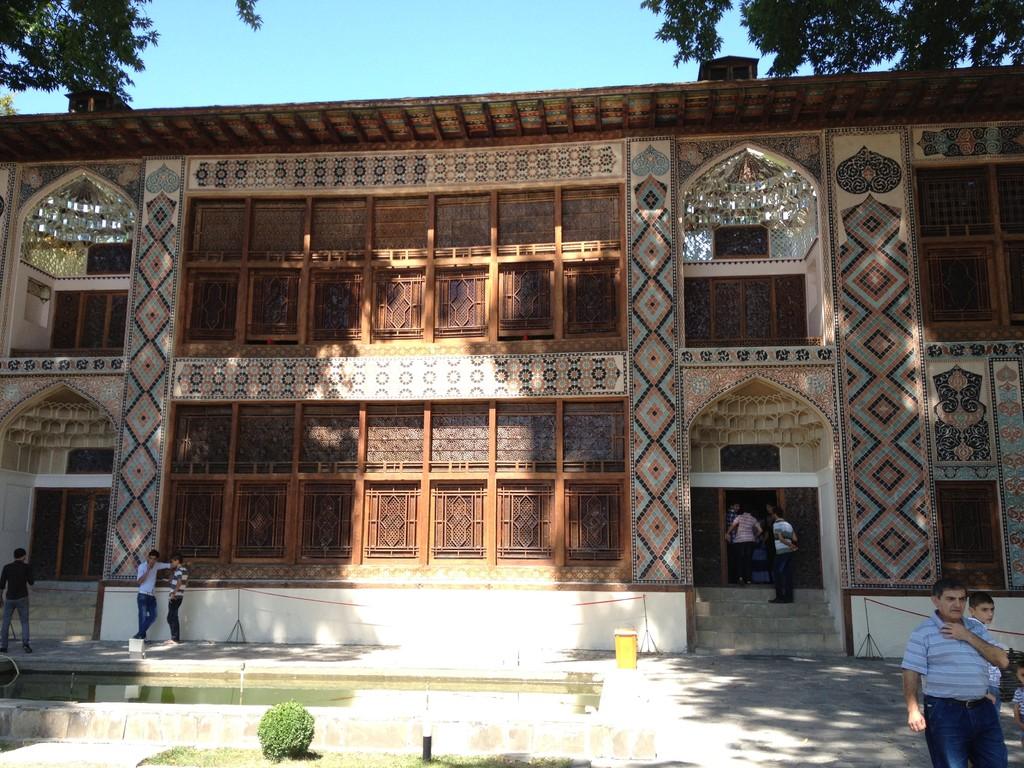 Kahnpalast in Seki