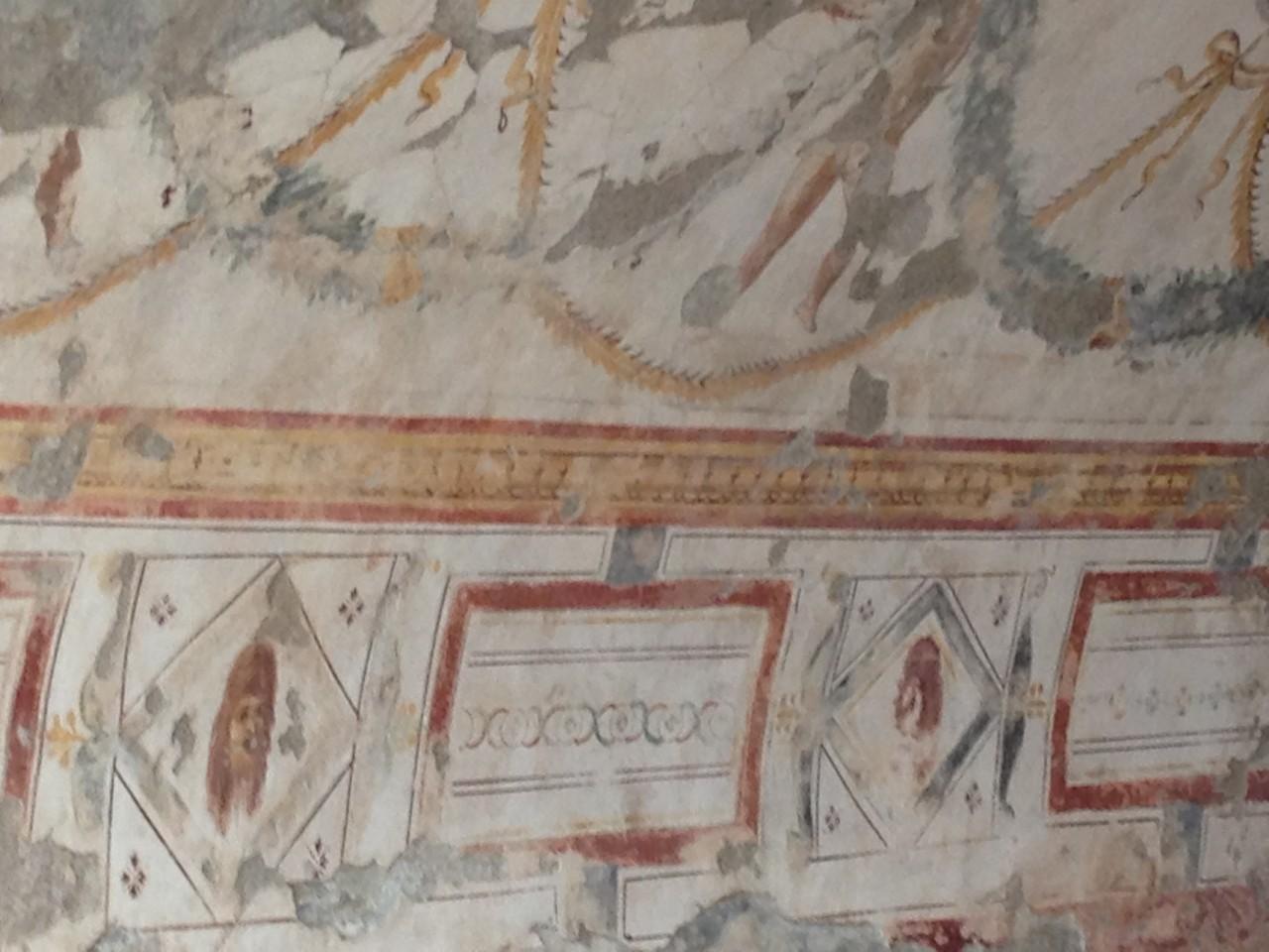 ...Fresken in den Hanghäusern