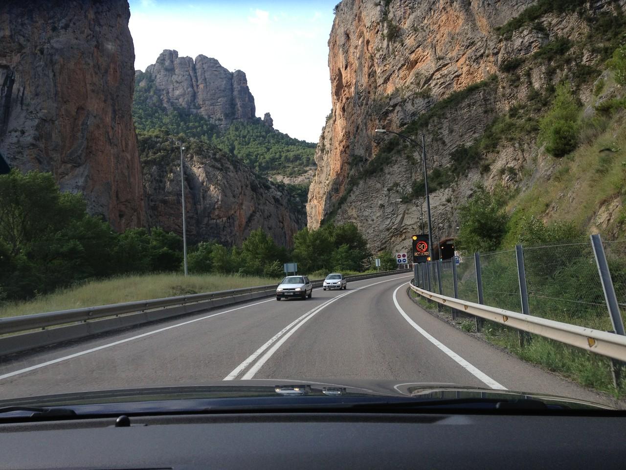 Das Tal von Noguera Pallaresa