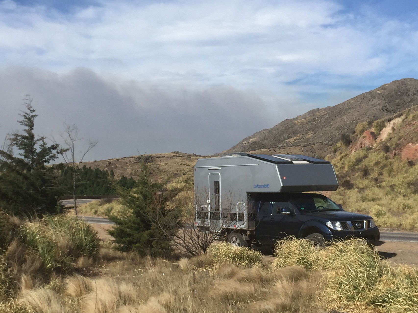 Buschbrand im Nationalpark