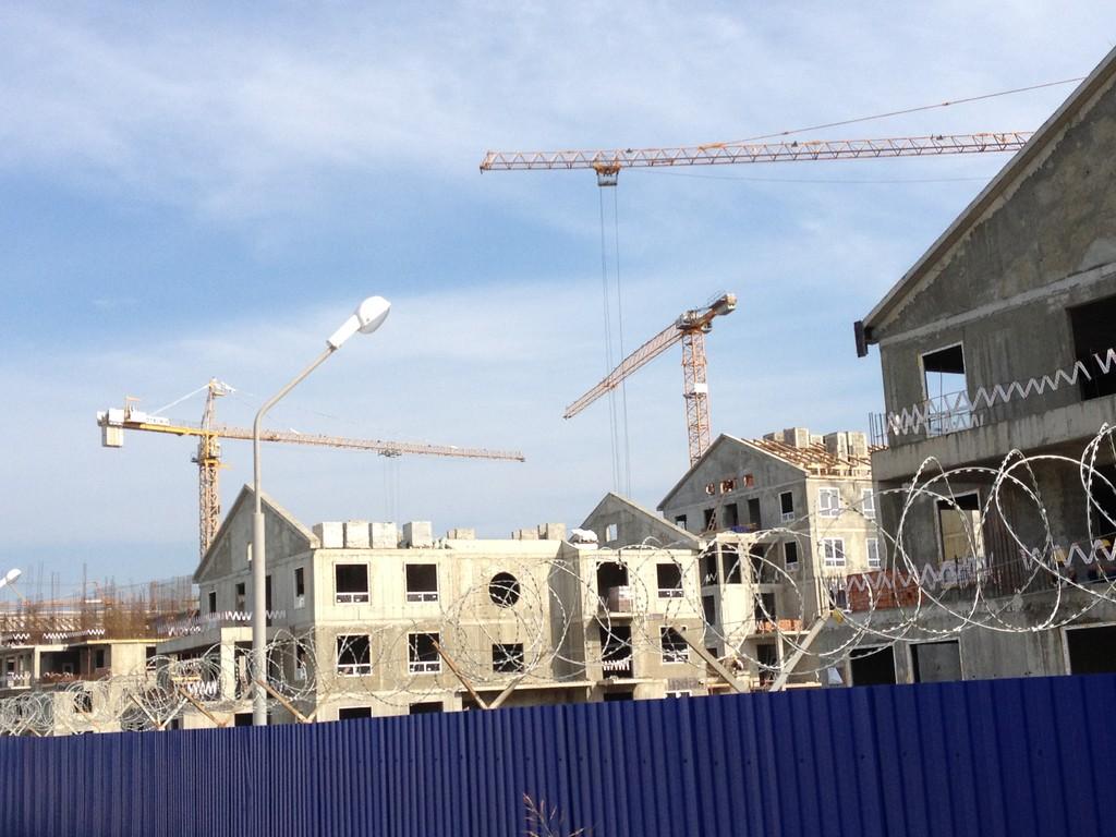 Bautätighkeit in Adler