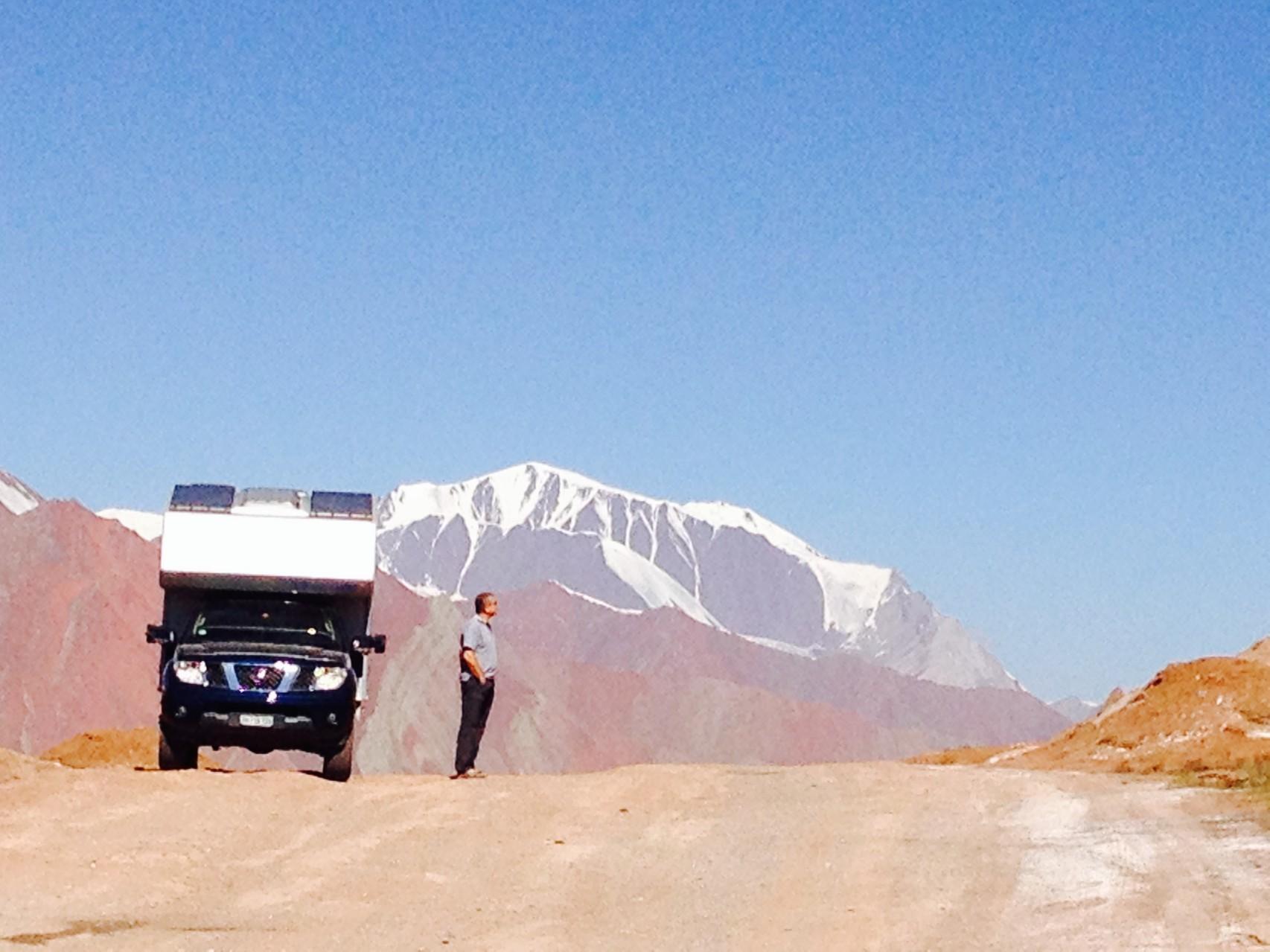 Kisyl Art Pass 4337m, vor der Grenze zu Tadschikistan