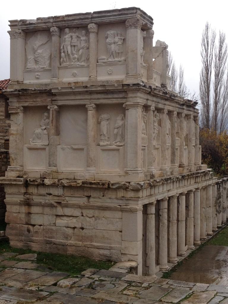 Ein Teil des Bouleuterion