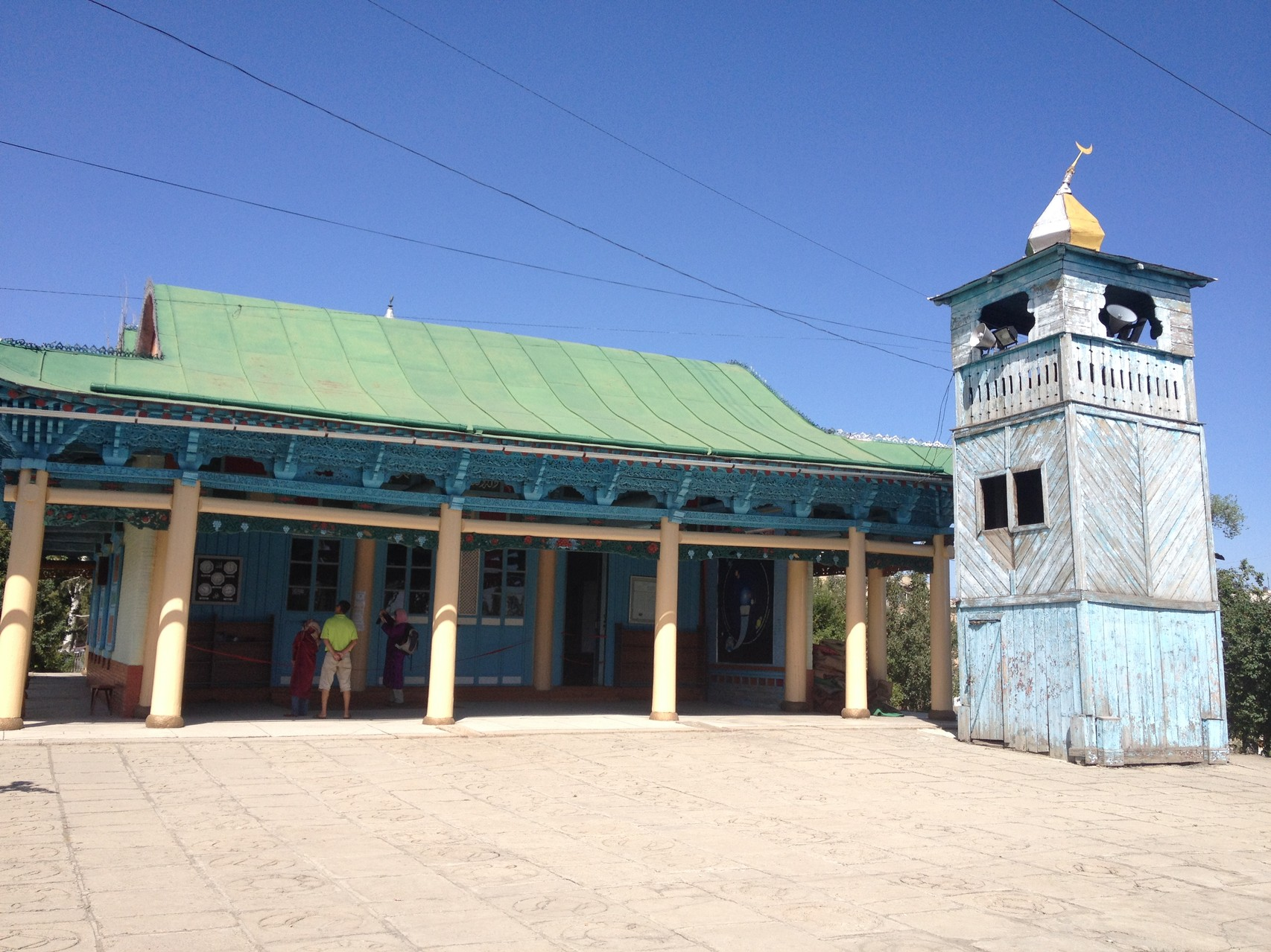 Holzmoschee in Karakol