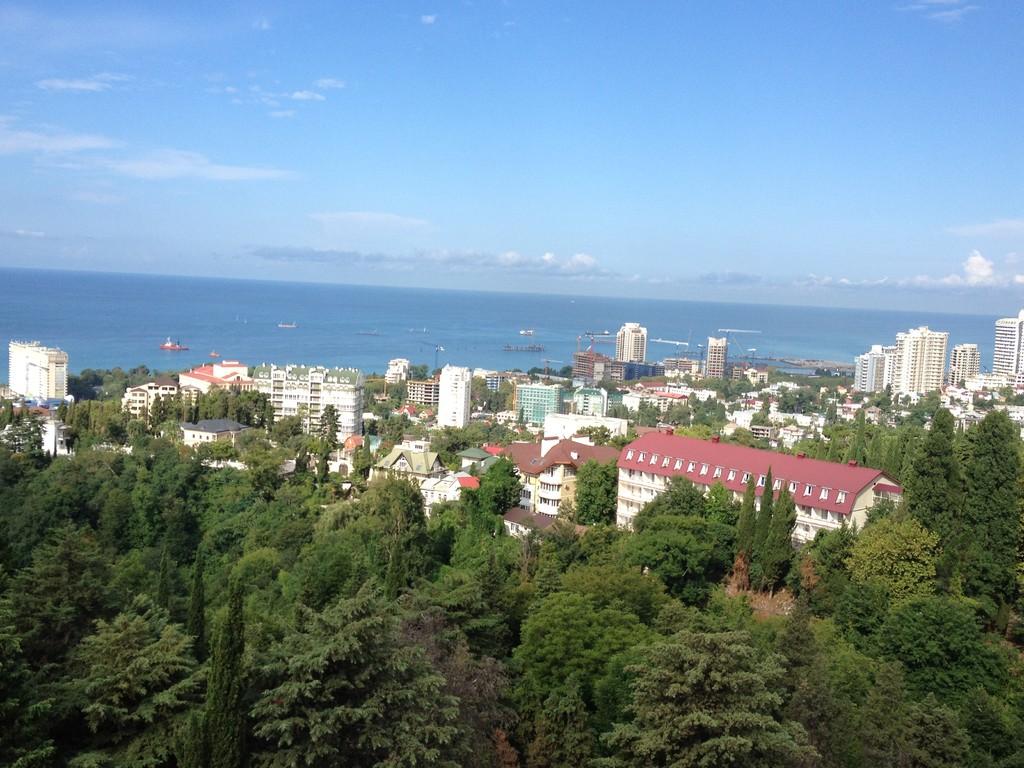 Sochi aus der Gondelbahn