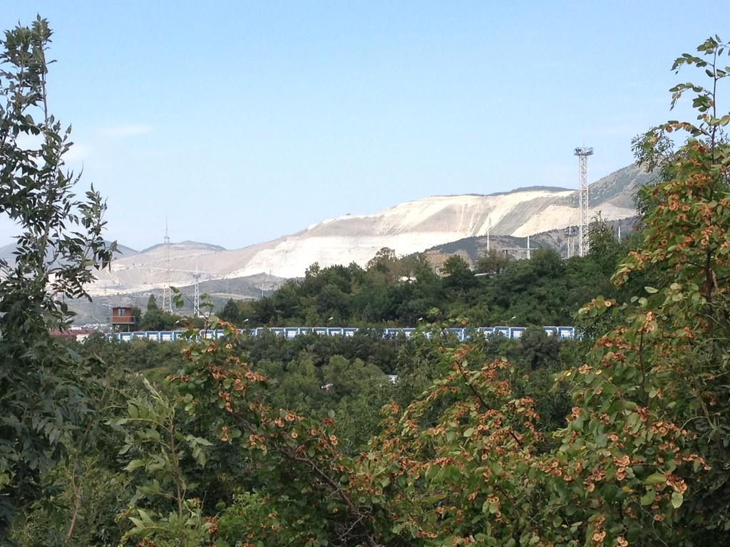Mergelabbau für Portlandzement in Novorossijska