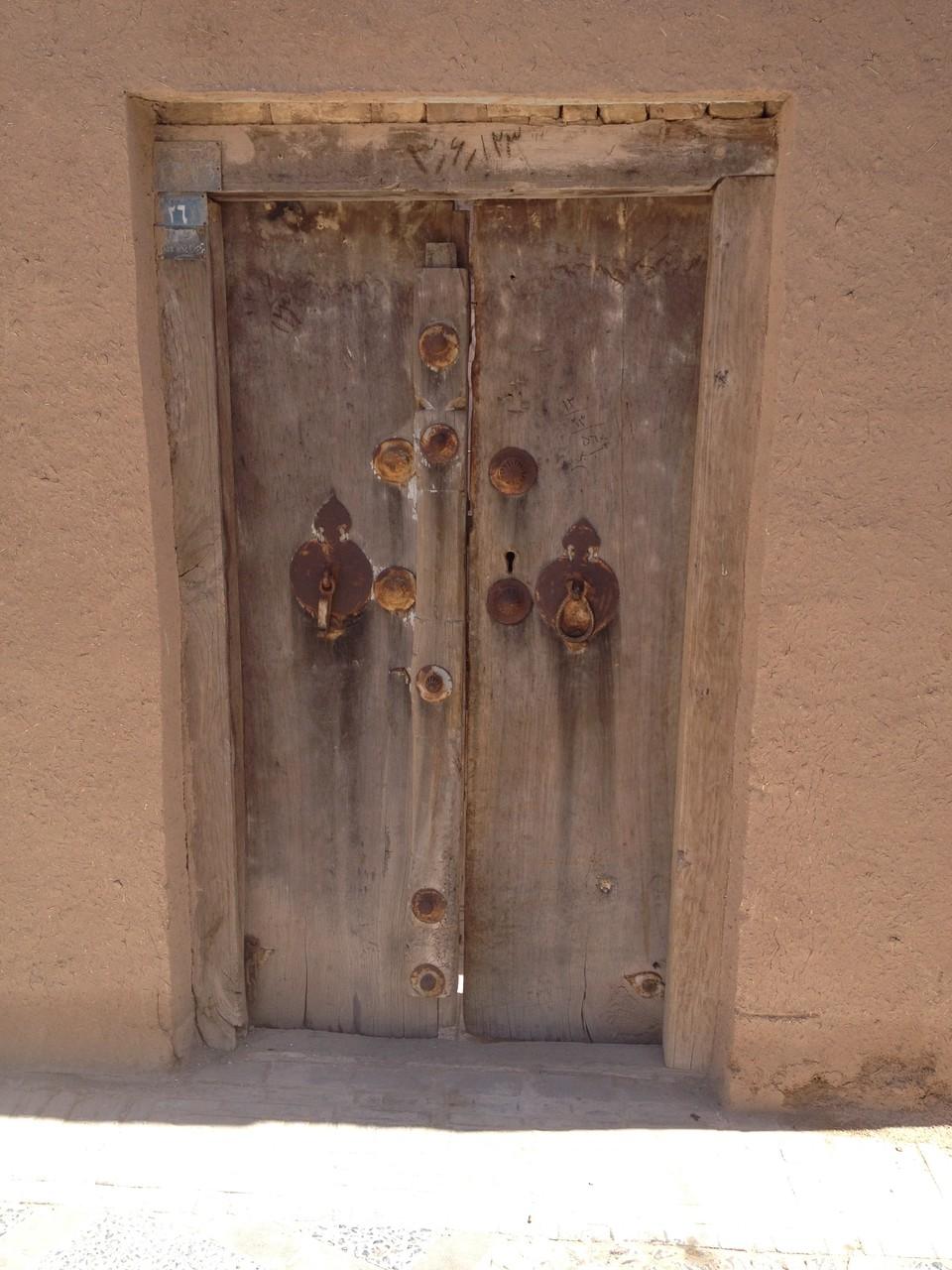 Türen mit Klopfer für Männer und Frauen