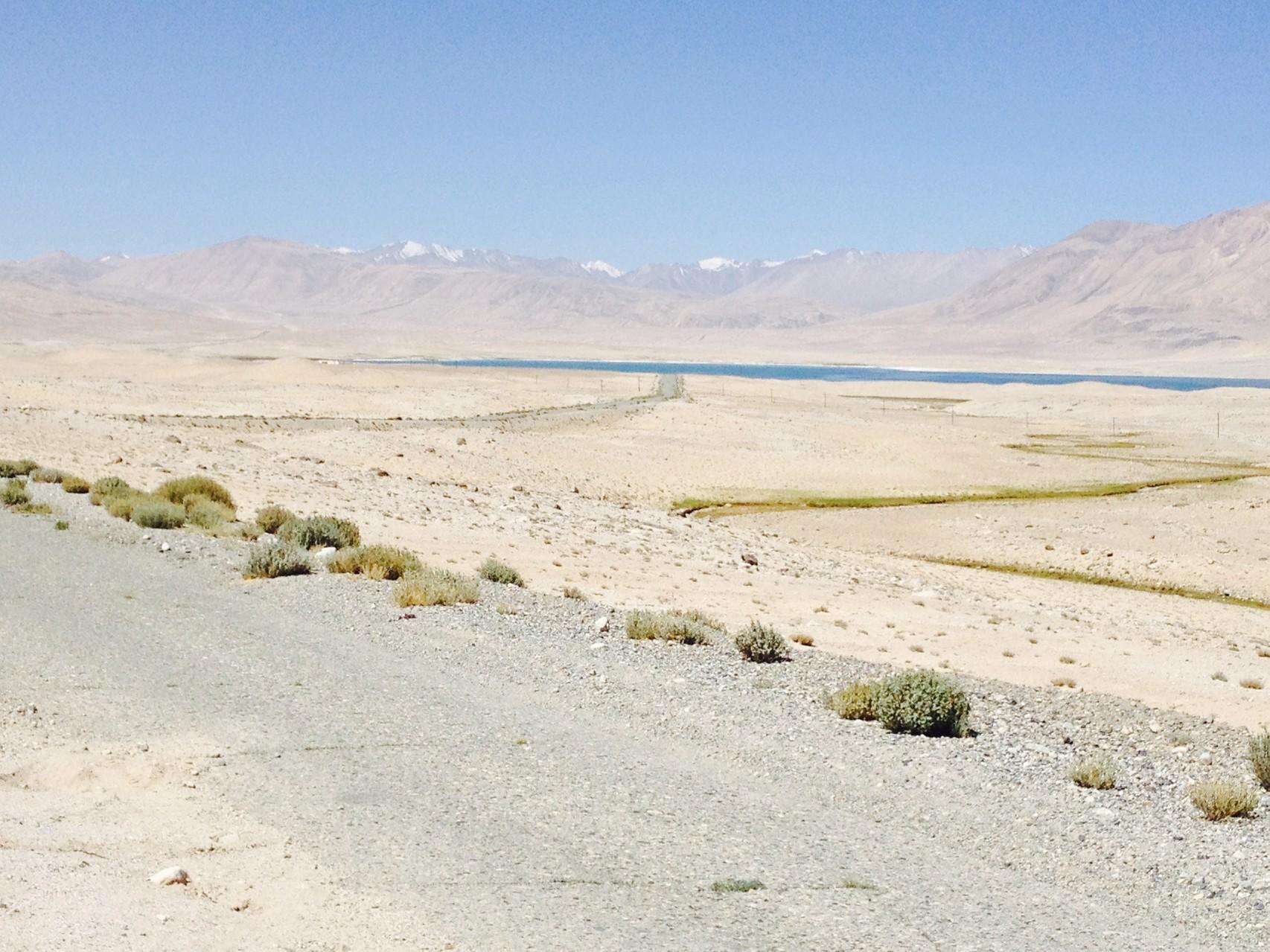 Salzsee nach Murgab
