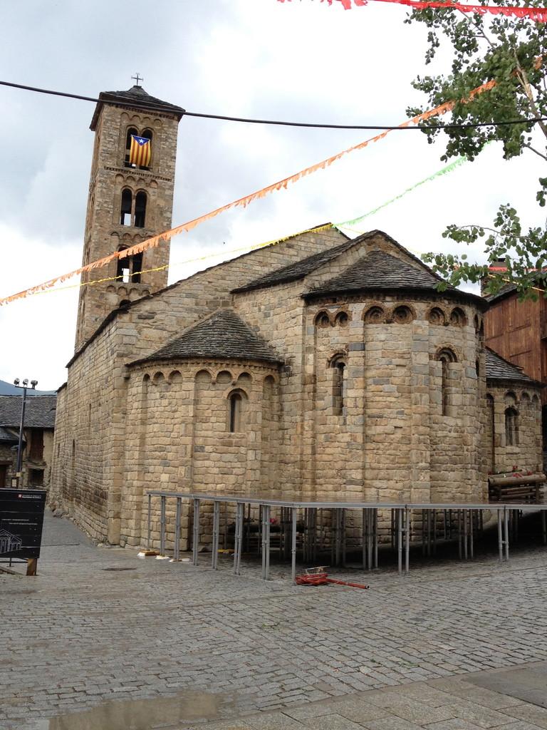 Dorfkirche in Taüll....