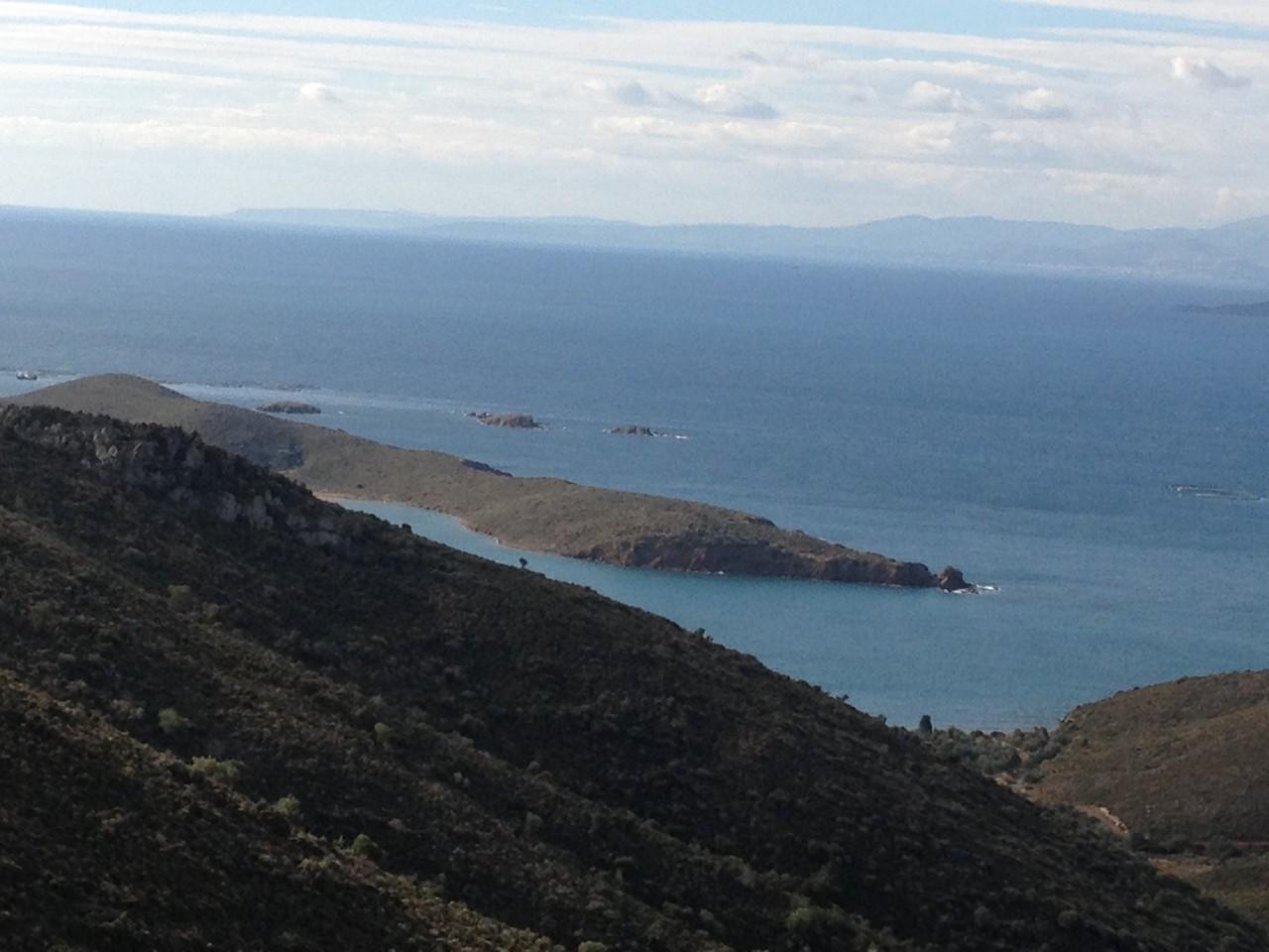 Küstenlandschaft auf der Halbinsel Cesme