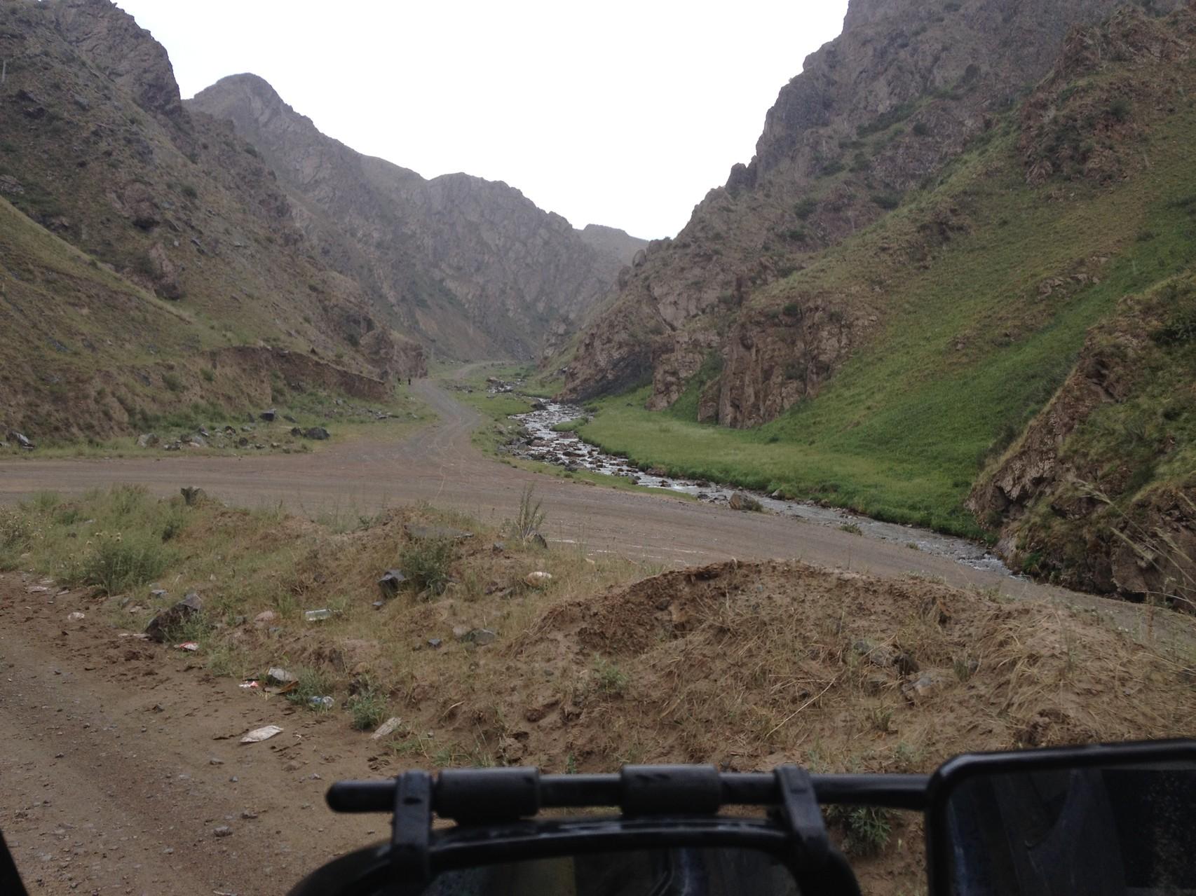 Nach Naryn Richtung Chinesische Grenze