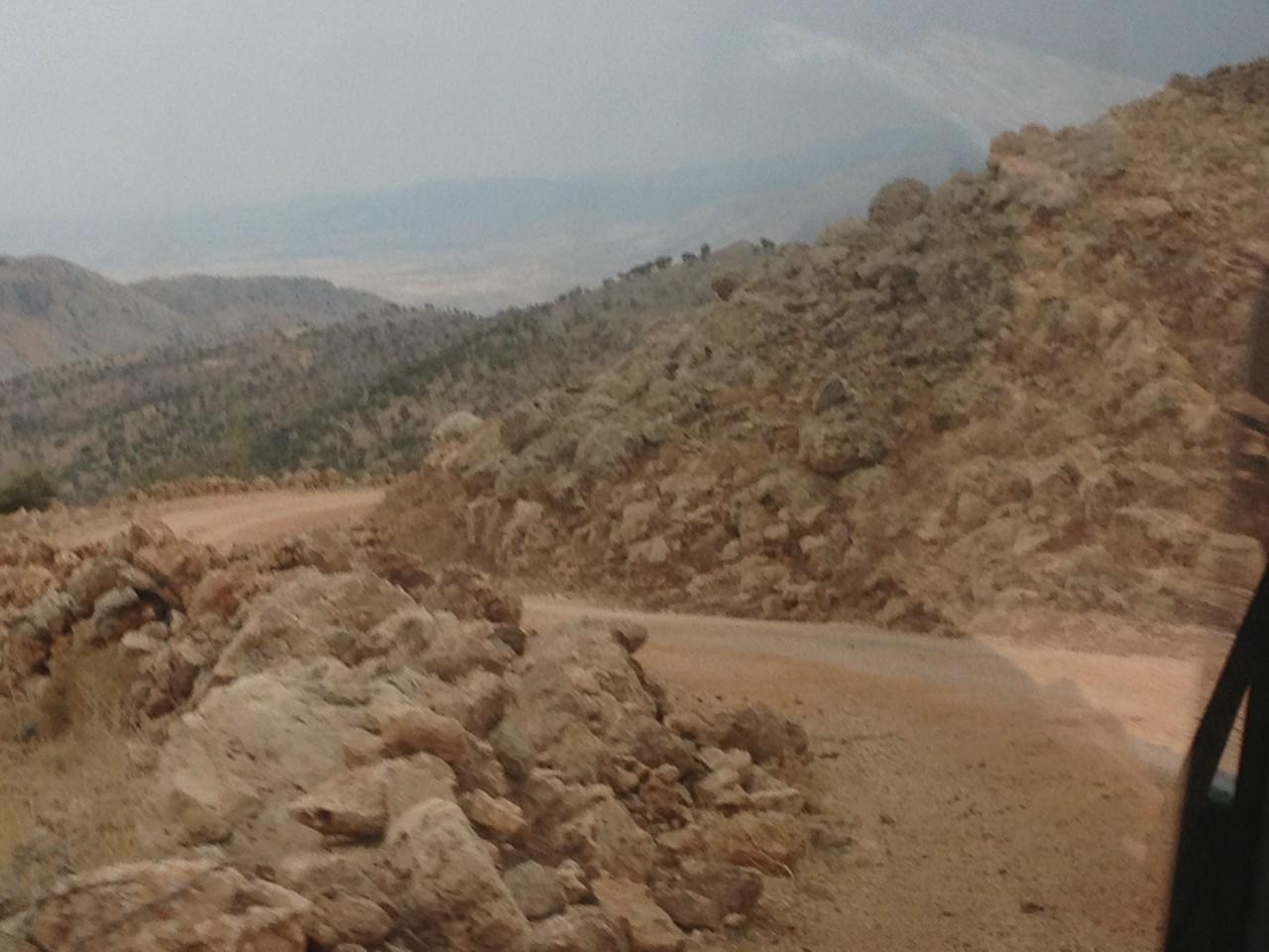 vom Nemrut Dagi zurück ins Tal