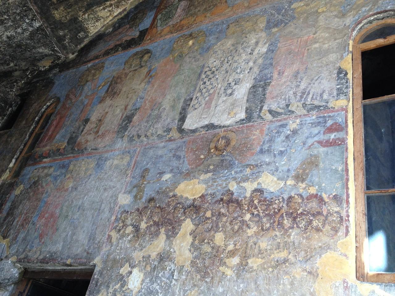die Fresken in der Kirche von Vardzia