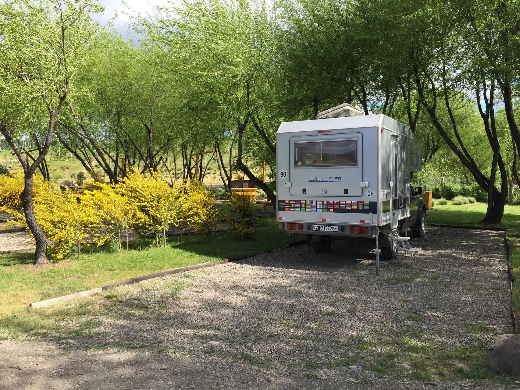 Camping Trevellin, ein Traum
