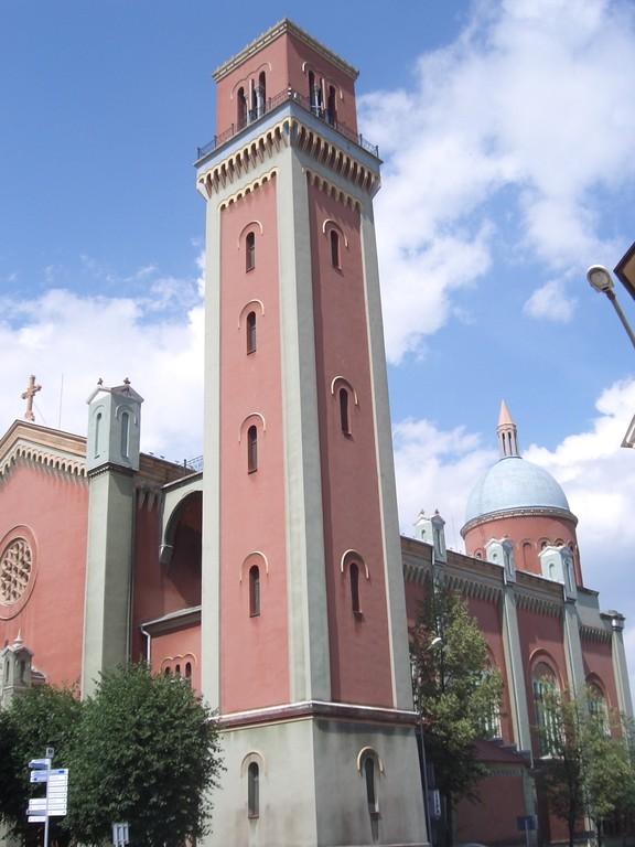 Neue evanglische Kirche in Kezmarok