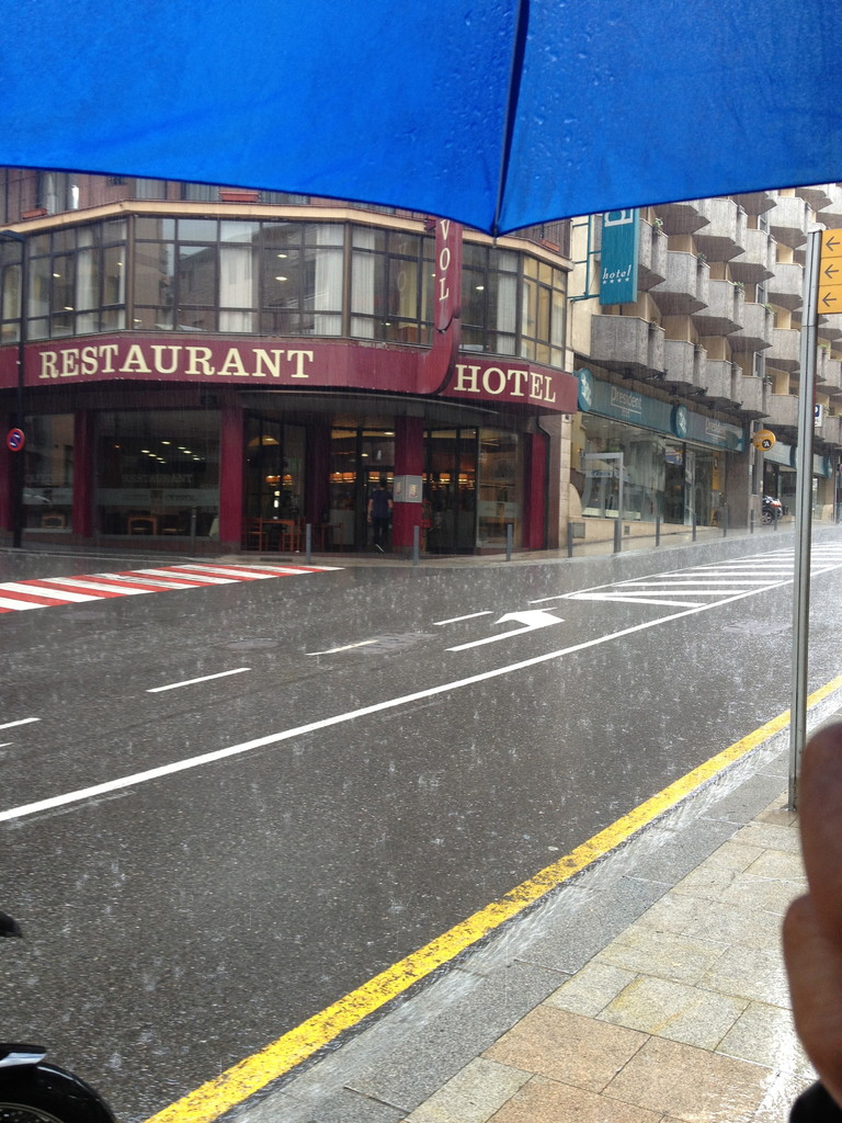 Andorra bei Regen!