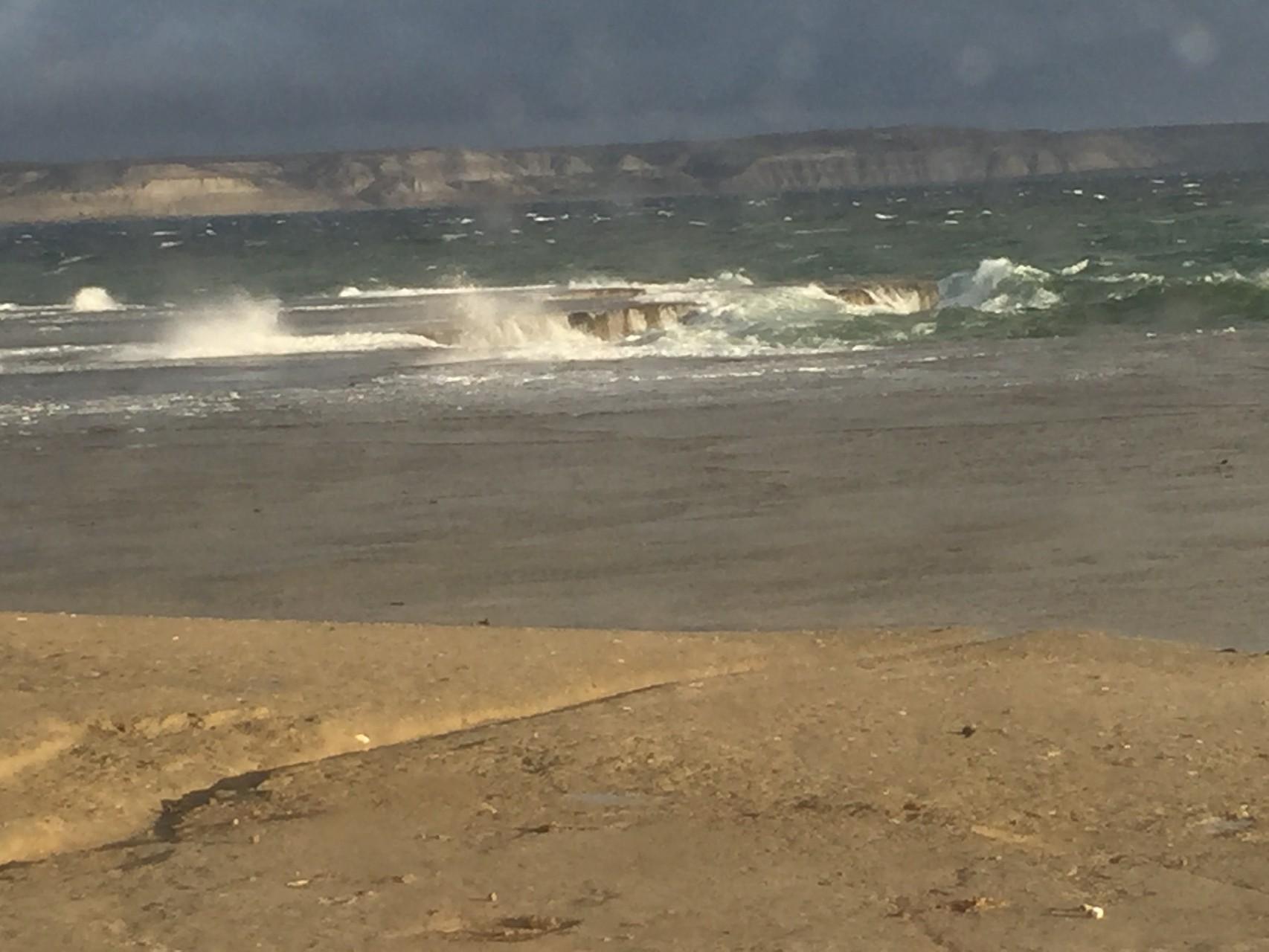 El Doradilla bei Sturm