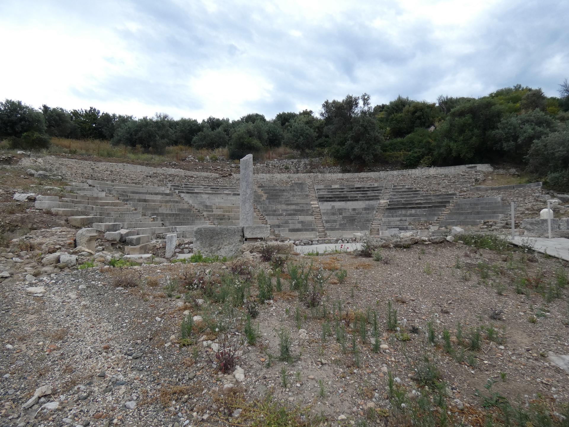 ... mit kleinem Amphitheater