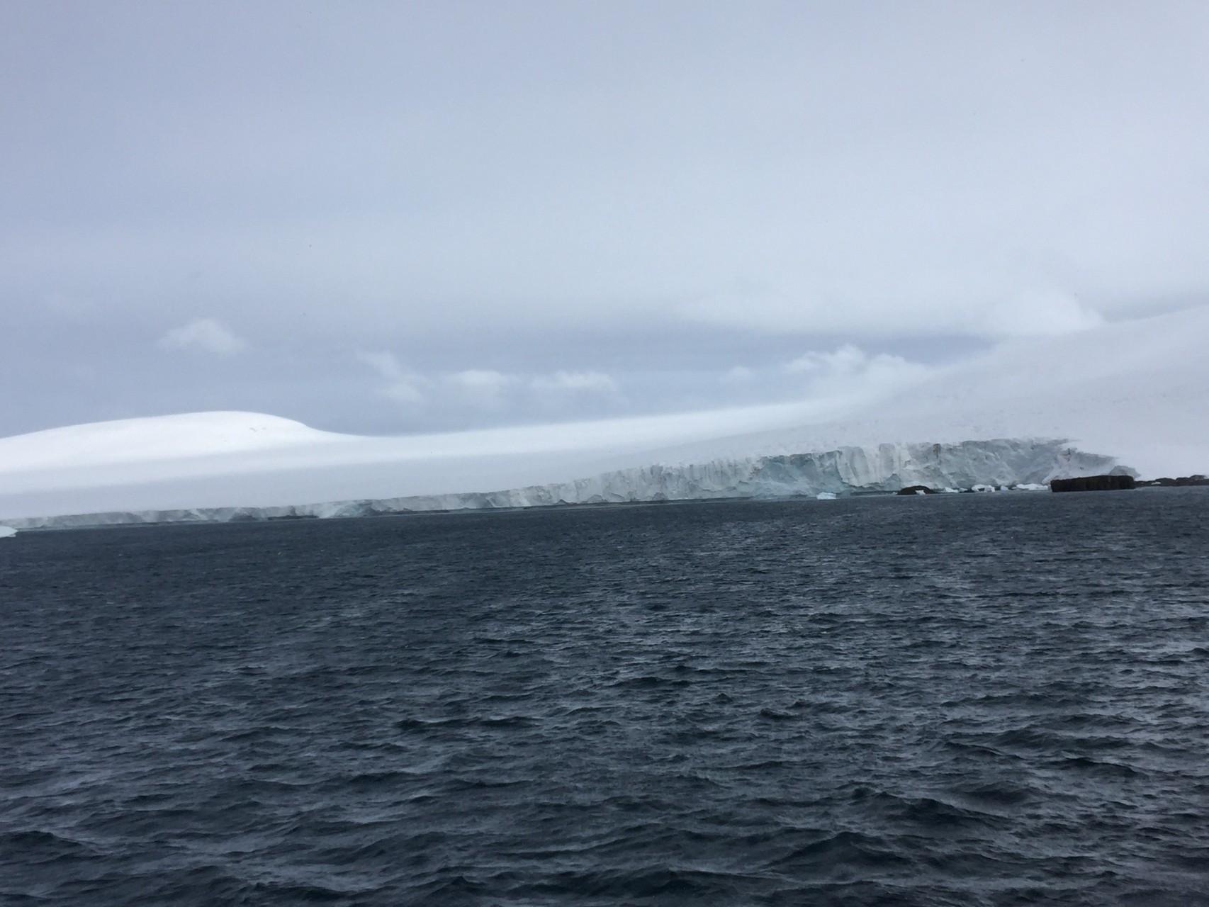 Braun Bluff, Festland Antarktis