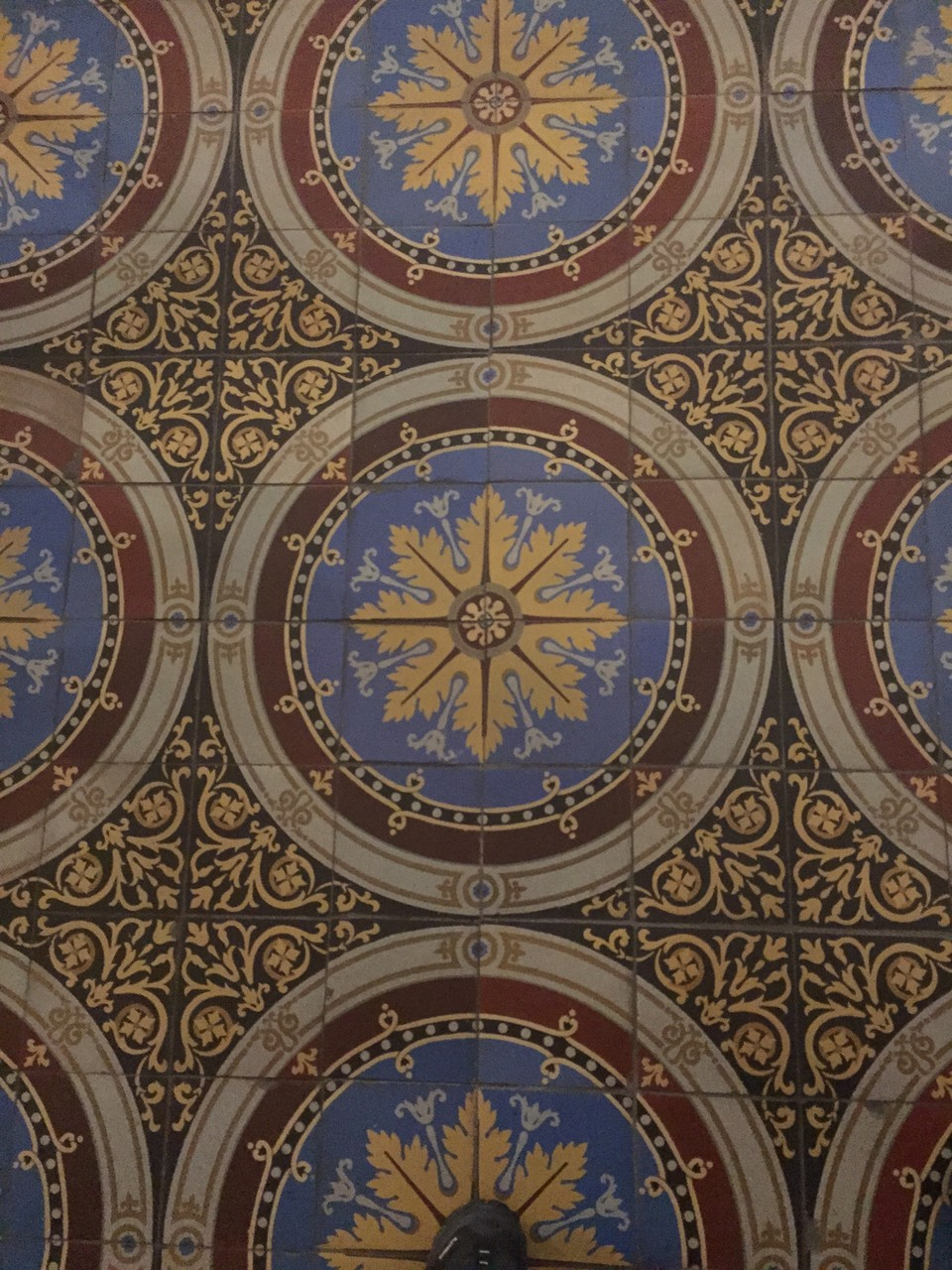 Boden in der Iglesia Matriz