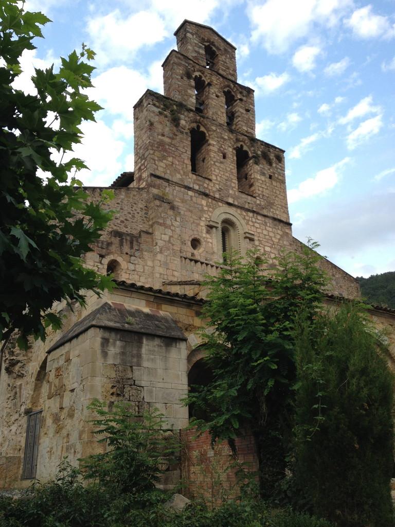 Kirchturm in Gerri de la Sal