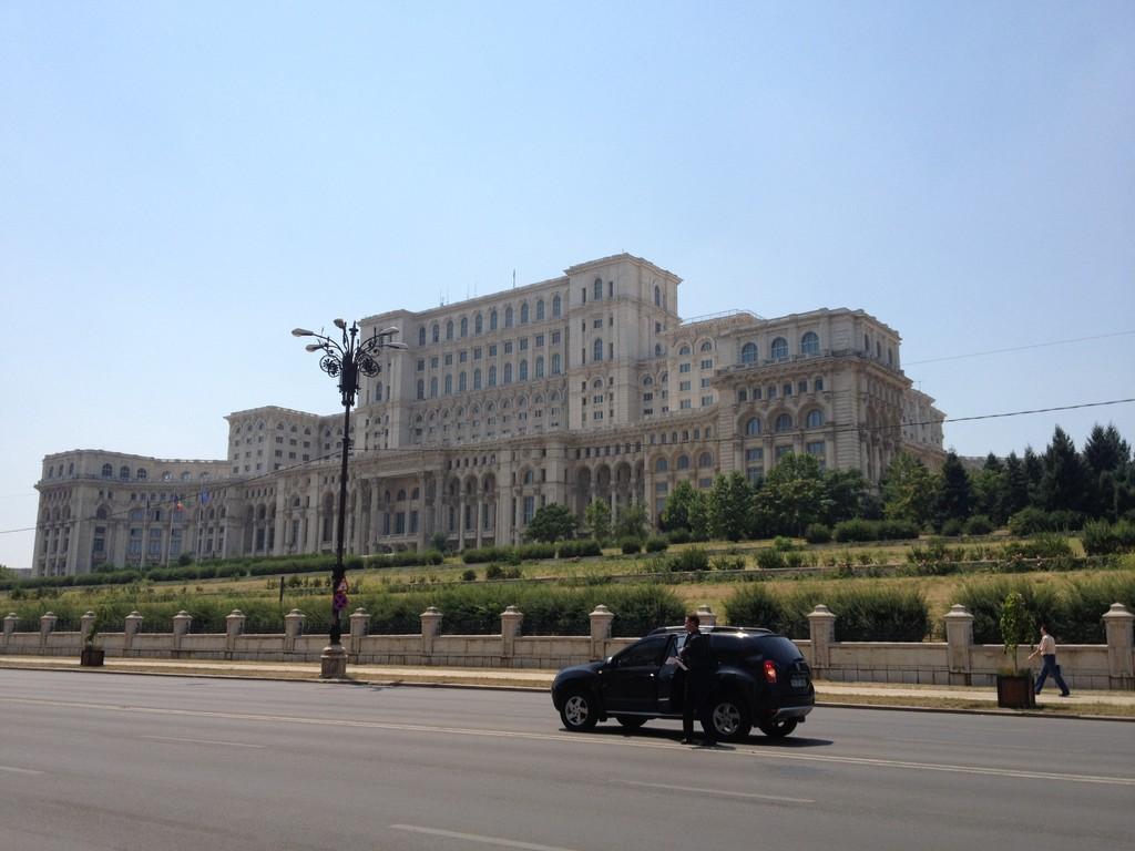 Parlament mit über 1000 Räumen