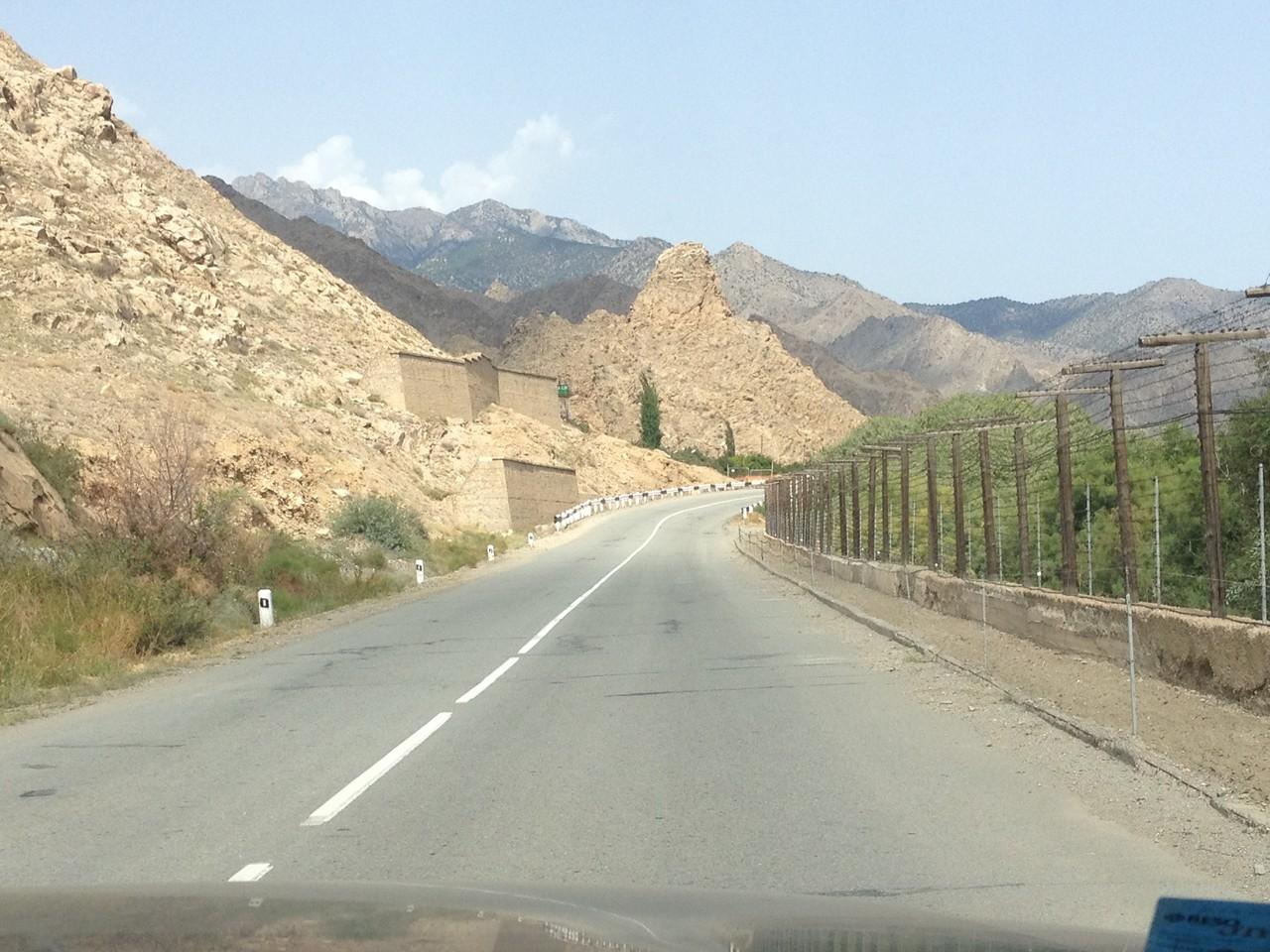 Entlang der iranischen Grenze
