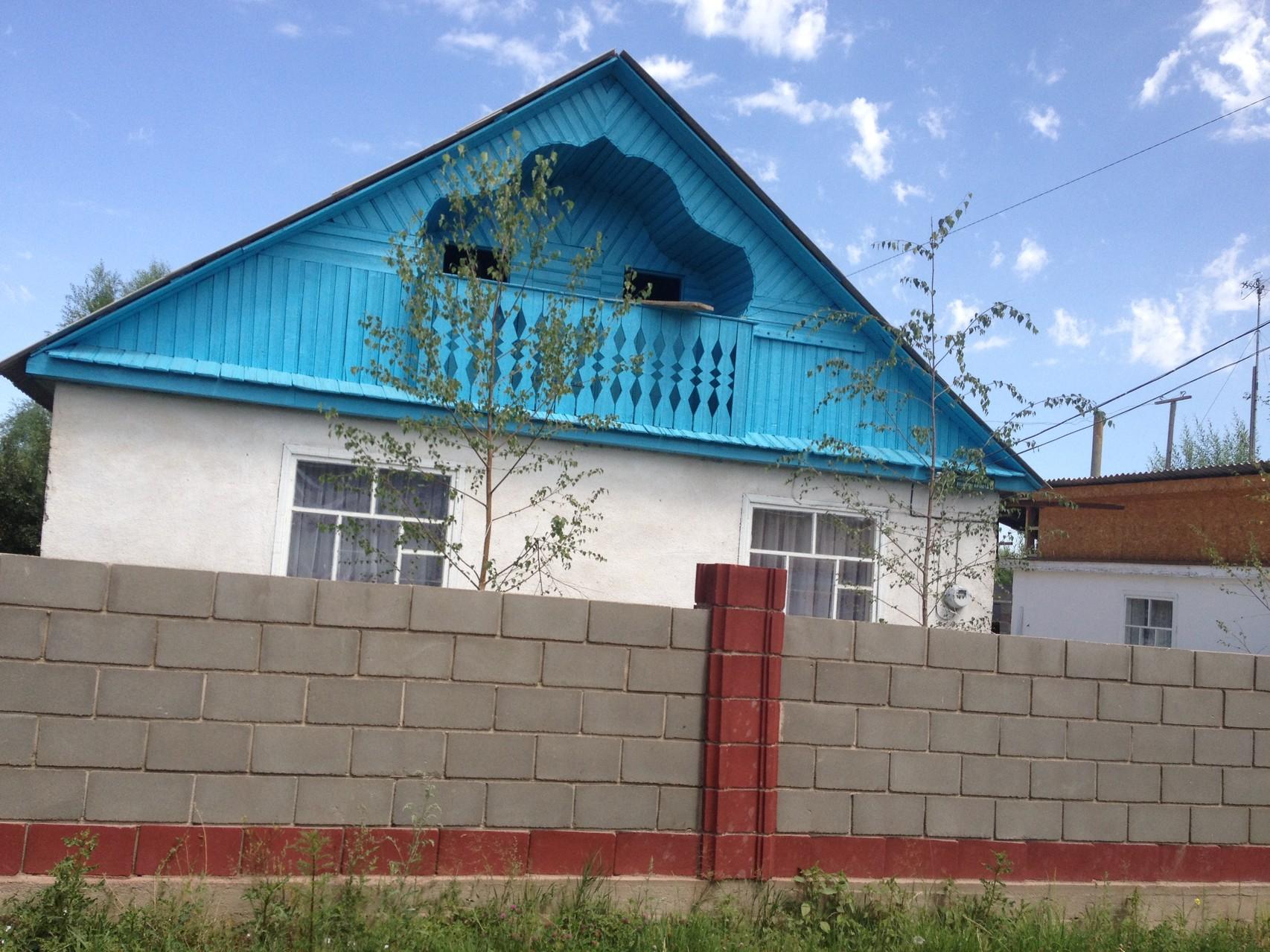 Typisches Haus auf dem Dorf