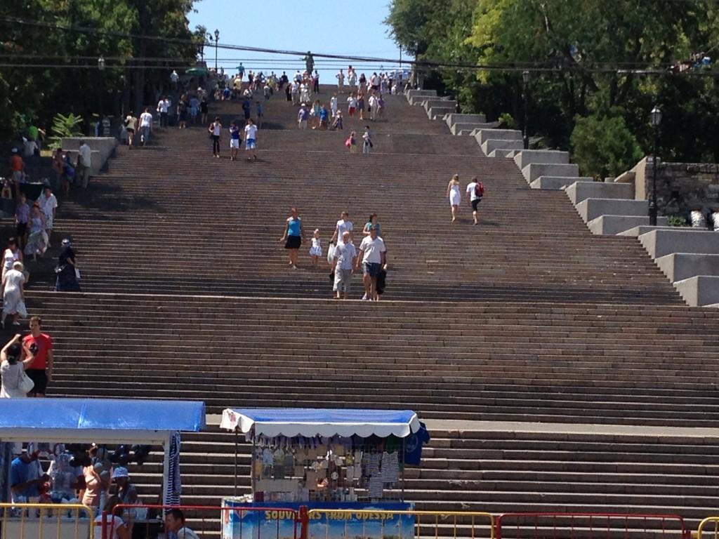 Potjomkin - Treppe
