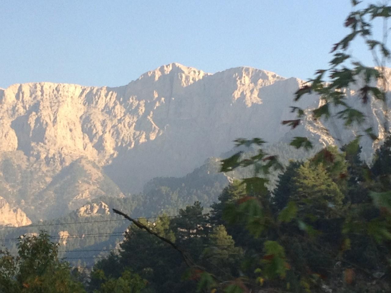 Das Taurusgebirge aus dem Zug