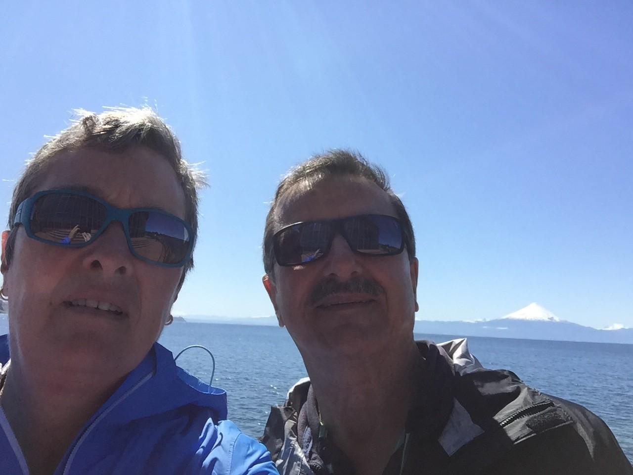 Selfie mit Osorno