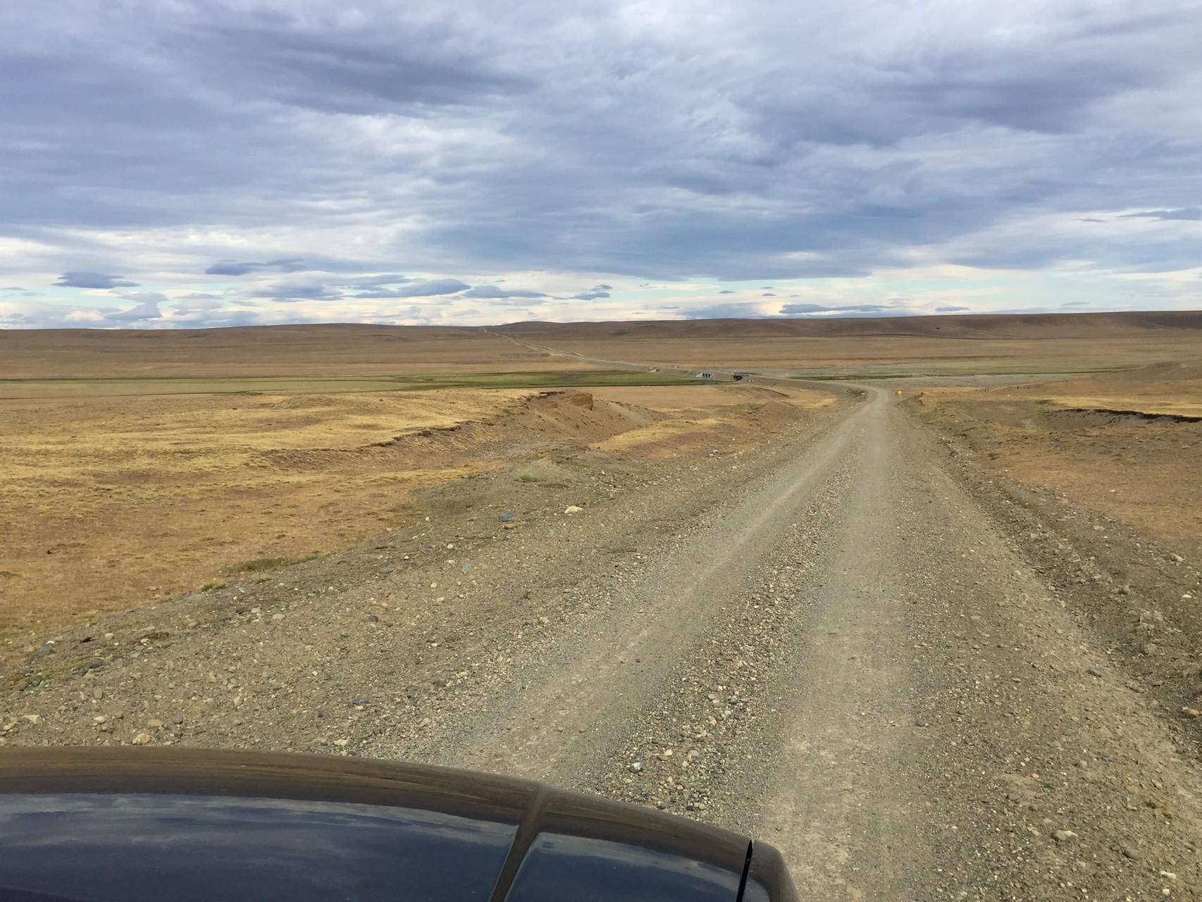 An der Grenze von Chile entlang
