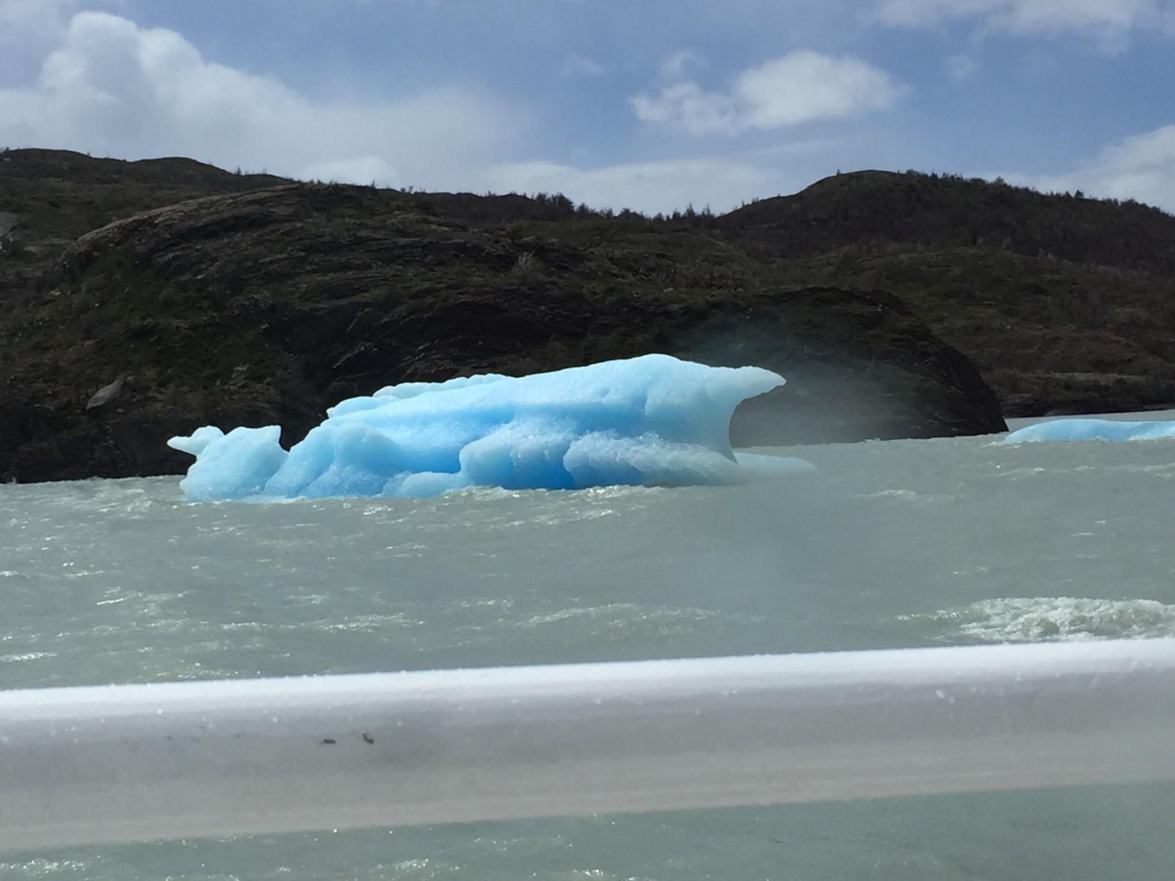 Vorbei an Eisbergen zum Glacier