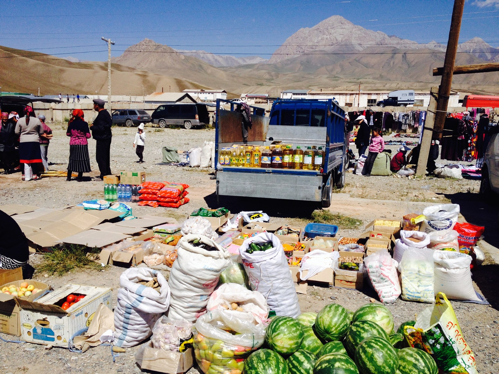 Markt bei Sari Tash