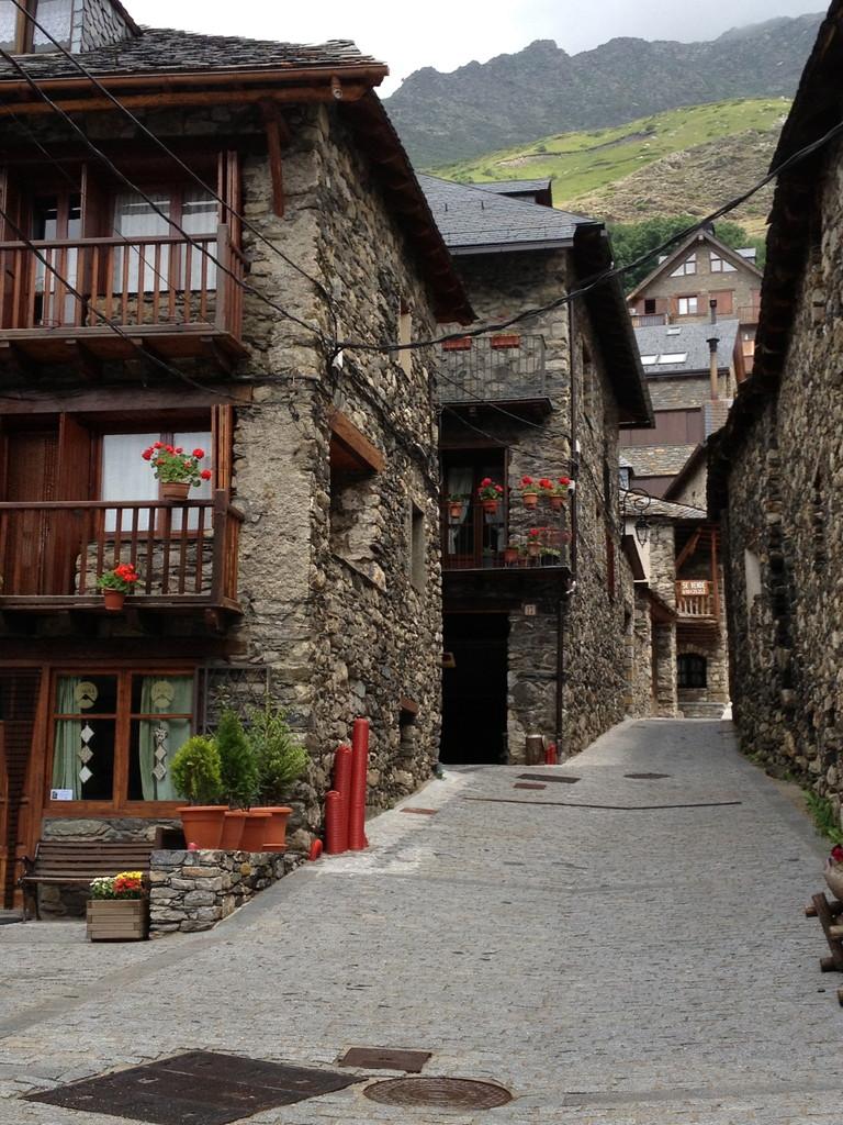 Taül, typisches Dorf in den Pyrenäen