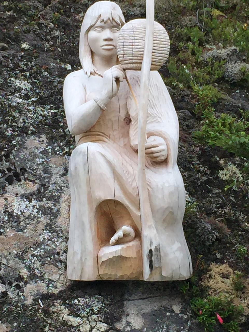 ... und den wunderschönen Skulpturen