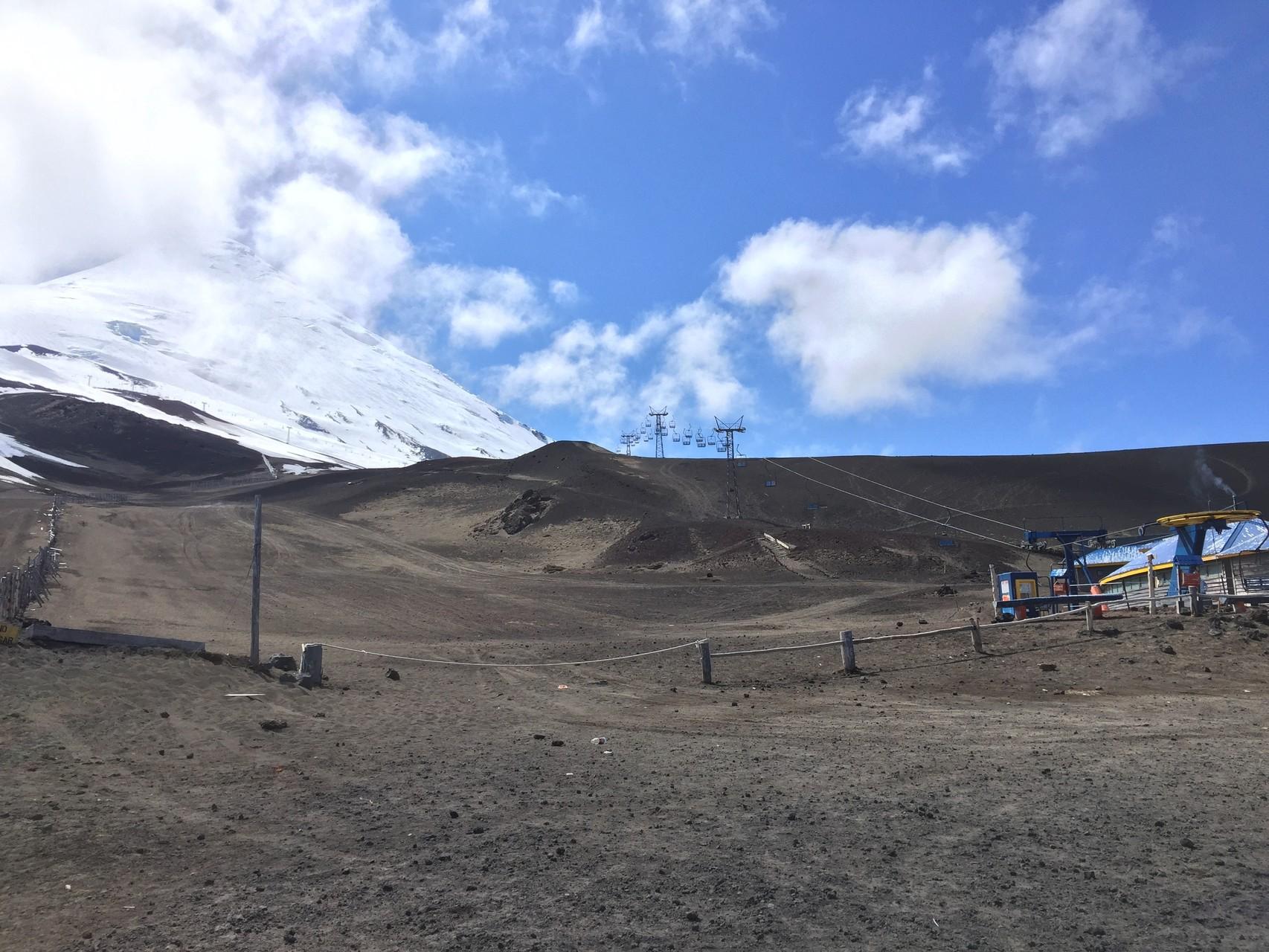 Skigebiet Osorno....