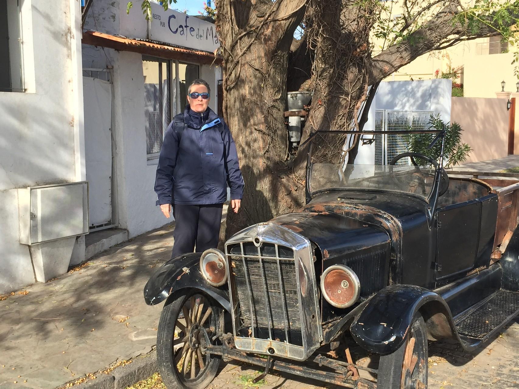 Überall alte Autos in Uruguay