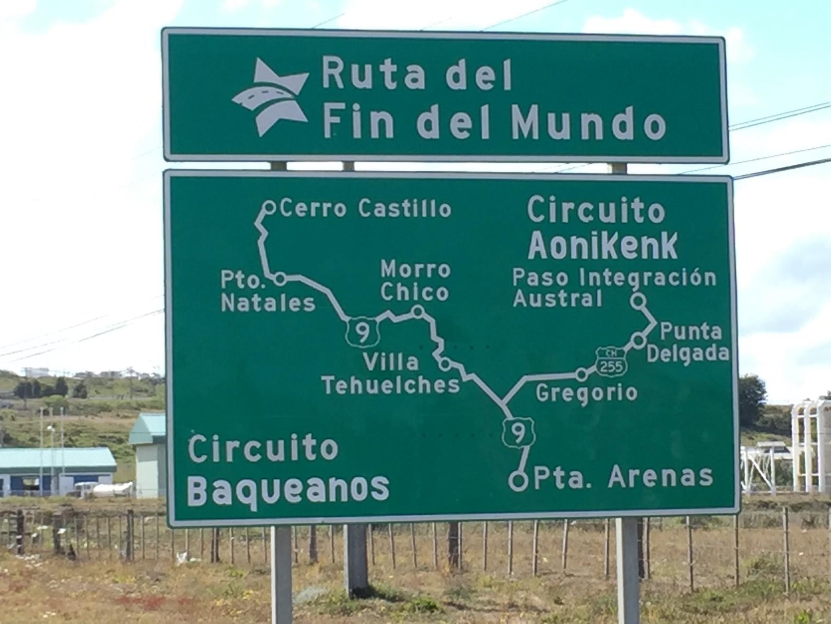 """Ruta """"Fin del Mundo"""""""