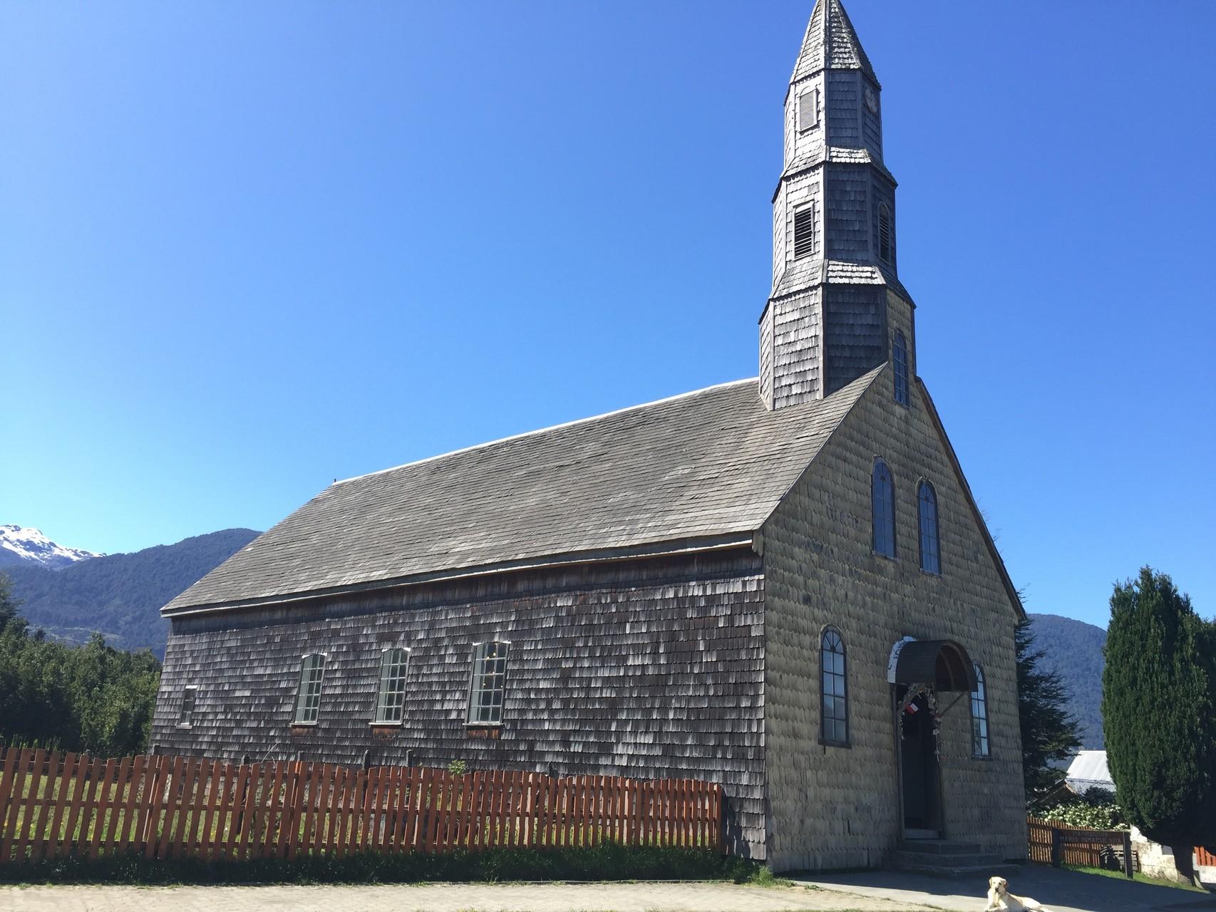 .....und der alten Kirche