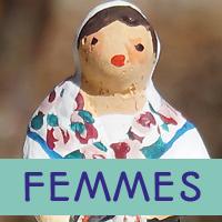 femmes santons 3.5cm