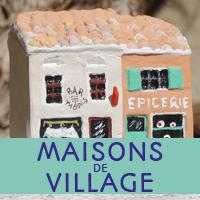 maisons de village 3.5cm