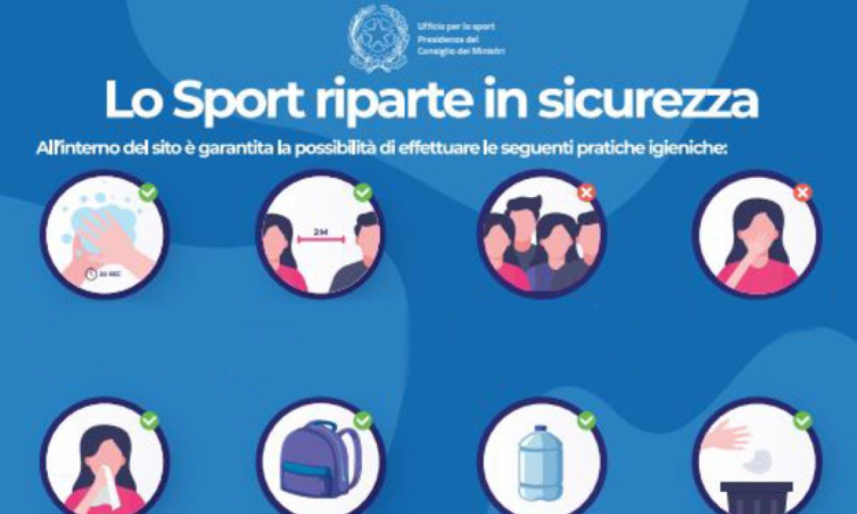 Nuove linee guida per l'attività sportiva dilettantistica