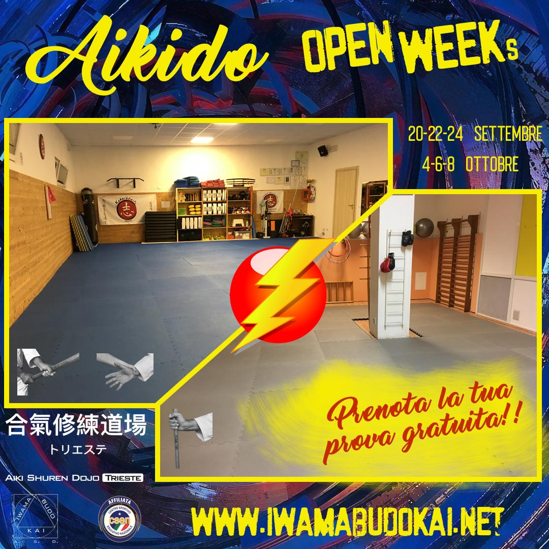 Aikido Open Week(s) 2021