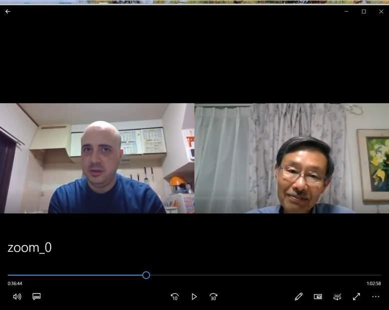 日本語教室(夜)のオンライン学習レポート