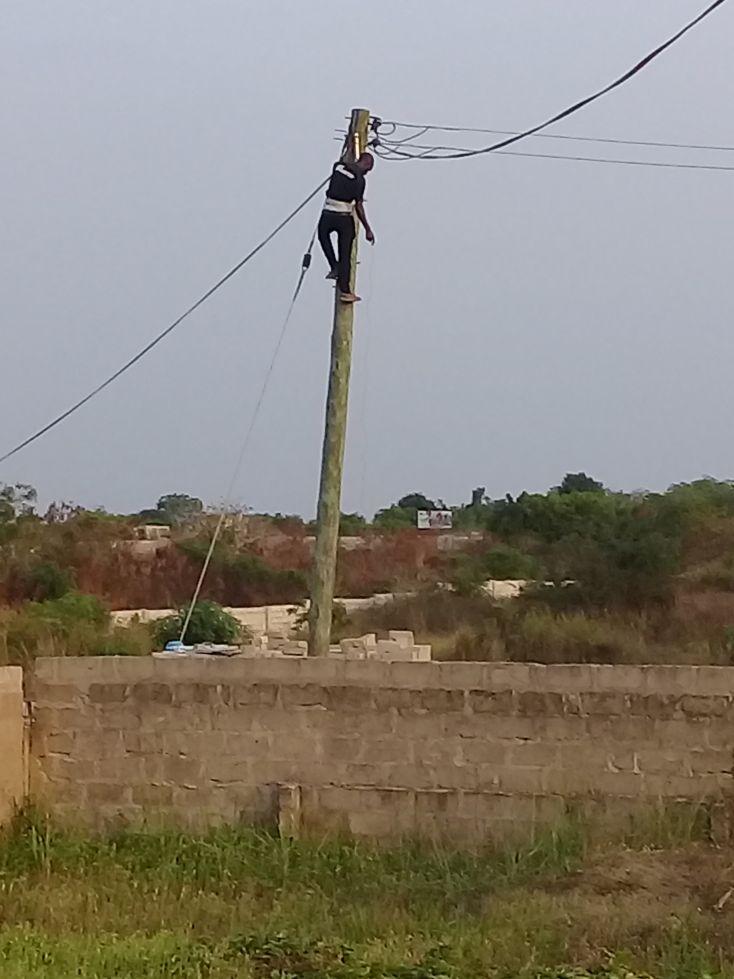Anschluss ans Stromnetz