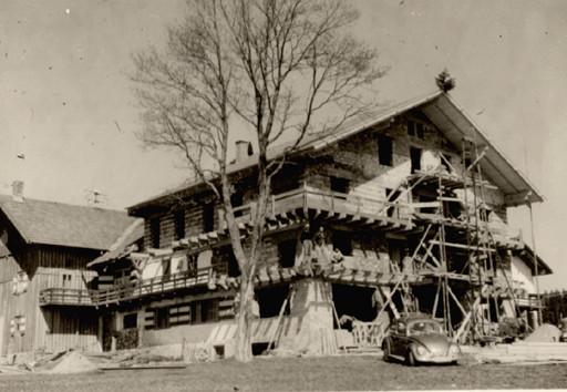 Umbau Gasthof Löwen in Lachen, Frühjahr 1952