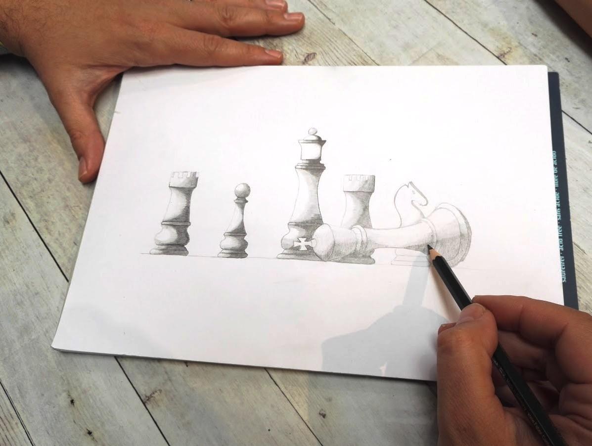 Crayon graphite par Fabien