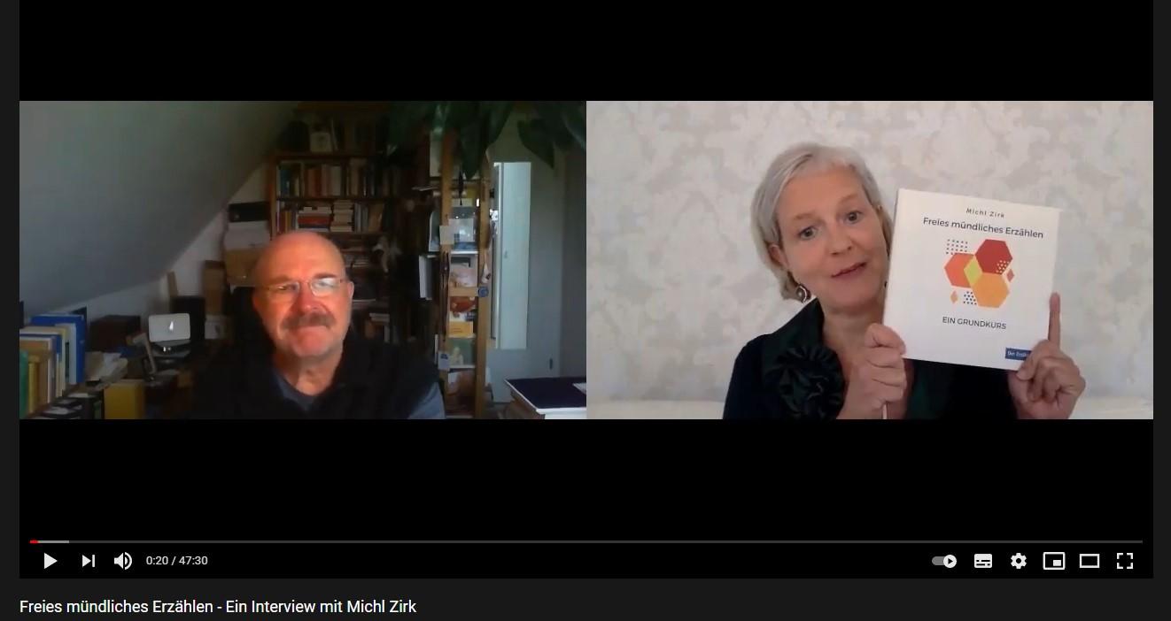 Jana Raile im Gespräch mit Michl Zirk