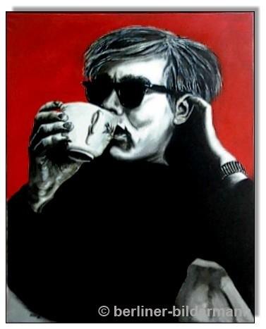"""""""Andy Warhol""""/ 1889/ Öl auf Leinwand"""